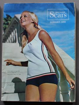 Simpsons-Sears Summer 1969 - Sale Ends September 15, 1969 vintage catalog Mailorder Collectors .
