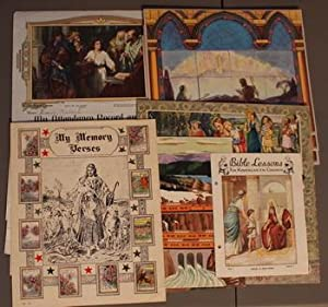 My Attendance Record and Reward Sunday School Cards - Christain Religious Jesus Christ (5 differe...