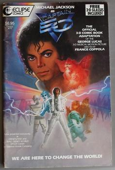 Michael Jackson as Captain EO SPECIAL SOUVENIR EDITION - We Are Here to Change. (the Official 3-D...