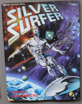 MARVEL GRAPHIC NOVEL #38- Silver Surfer; Judgment Day [Includes; Nova (Frankie Ray) & Mephisto vs...