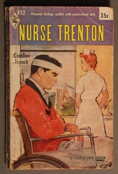 NURSE TRENTON. (#412 in the Vintage Harlequin Series)