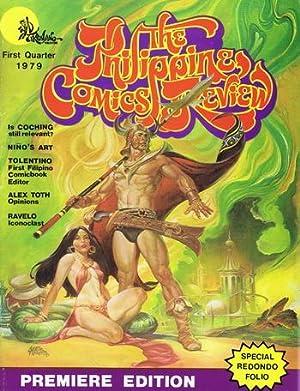 PHILIPPINES COMICS REVIEW (ENGLISH LANGUAGE Comics Fanzine/Magazine);: Nestor Redondo; Vince
