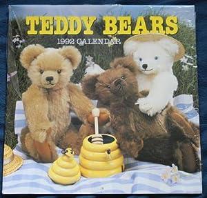 TEDDY BEAR WALL1992 CALENDAR 12 months .: Coles.