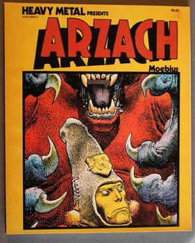 Heavy Metal Presents ARZACH. - MOEBIUS {Comics Graphic Novel } SILENT No Text Stories. >> Include...