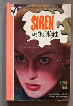 SIREN IN THE NIGHT (1948; Bantam Books #303; Colonel Primrose Mystery)