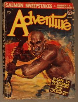ADVENTURE -- ( Pulp magazine. April/ 1947): E. Hoffmann Price;