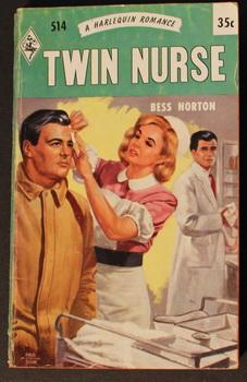 Twin Nurse (THE QUIET ONE) (#514 in the Vintage Harlequin Series)