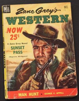 ZANE GREY'S WESTERN - ( December, 1953: Zane Grey; Walt