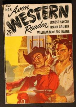 AVON WESTERN READER. - ( 1947; #3 -- Pulp Digest Magazine ) - McQuestion Rides by Ernest Haycox; ...