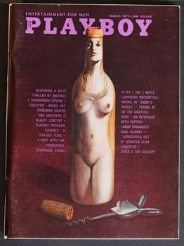 PLAYBOY - Magazine (Volume 19 #3; March: CRICHTON, MICHAEL --