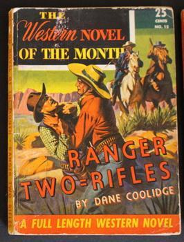 THE WESTERN NOVEL CLASSIC. (No Date Circa: Dane Coolidge.