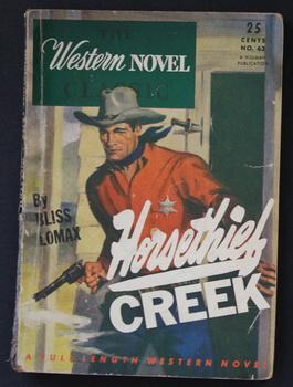 THE WESTERN NOVEL CLASSIC. ( 1946; #63: Bliss Lomax; (aka