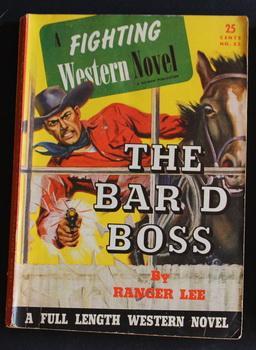 A FIGHTING WESTERN NOVEL. ( No Date,: Ranger Lee.