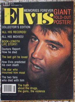 MEMORIES FOREVER: ELVIS COLLECTOR'S EDITION - Giant: Davis, Julie (Text)