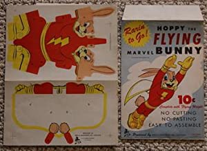 HOPPY THE FLYING MARVEL BUNNY (3-D Puzzle Game;from the Dime Line Series.; Un-used Game );.