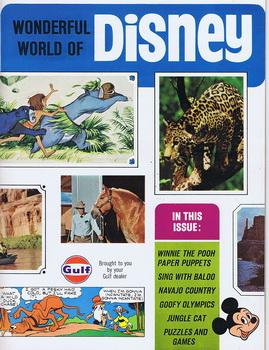 Wonderful World of DISNEY Volume-1 #1 (1968; Walt Disney Promotional Magazine from GULF OIL)