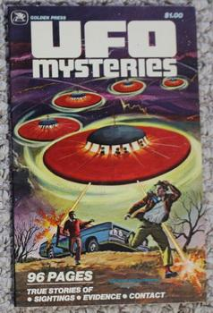 UFO MYSTERIES VOLUME-2 / Two (1978) #11400; 33 x True Color Comics Stories about UFO's and Flying...