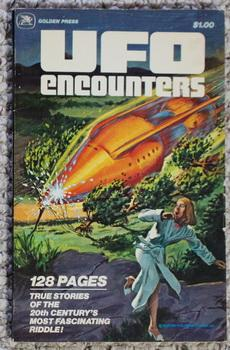 UFO ENCOUNTERS VOLUME-1 / One (1978) #11404; 34 x True Color Comics Stories about UFO's and Flyin...