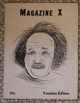 MAGAZINE X - VACATION EDITION. - Volume: Albert Einstein, Elliott