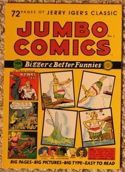 Jumbo Comics, No. 1 - Reprints from: Iger, Jerry, Illustrated