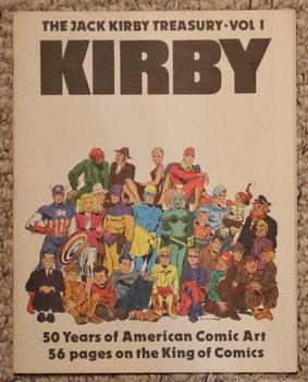 THE JACK KIRBY TREASURY - VOLUME 1: Greg Theakston &