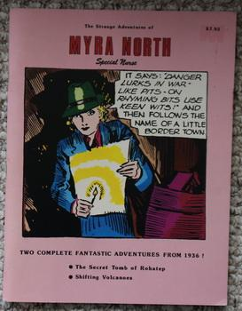 The Strange Adventures of Myra North, Special Nurse - Two Complete Fantastic Adventures from 1936...