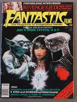 FANTASTIC FILMS, the magazine of Imaginative Media: Stephen King,George Romero;
