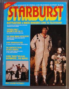 STARBURST (UK British MARVEL; SCI-FI MONTHLY MAGAZINE;: Stephen King, Stan