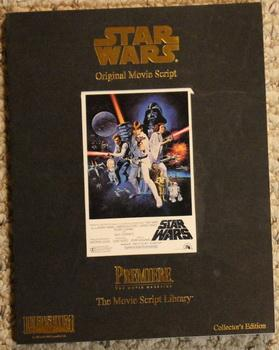 Star Wars - Original Movie Script - Premiere the Movie Magazine; The Movie Script Library; -Colle...