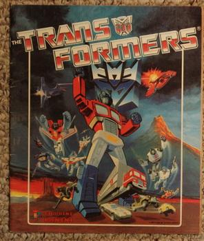 THE TRANS FORMERS 1986 PANINI Sticker Album.