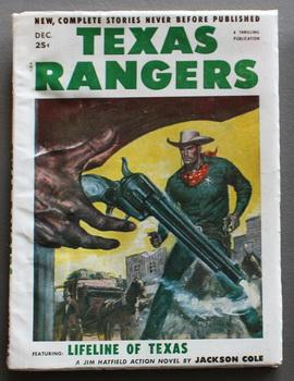 TEXAS RANGERS, (Western Pulp magazine). - December/ 1953. ; Volume 53 #1; -- Jim Hatfield in Life...