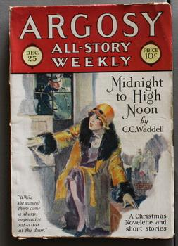 ARGOSY- ALL-STORY WEEKLY Pulp magazine. December 25, 1926. >>> Christmas & Santa Claus Issue.