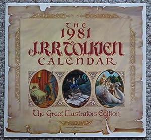 THE J.R.R.TOLKIEN CALENDAR 1981. (Lord of the: J.R.R. Tolkien [