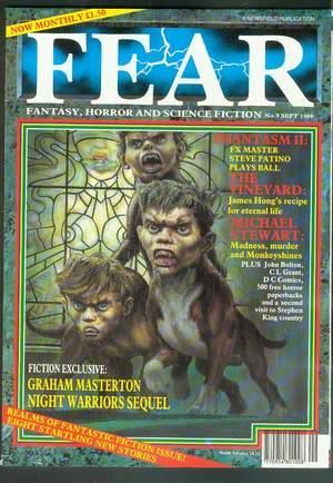 FEAR Magazine #9 (September/1989; UK/British); >> Night: KING, STEPHEN. -Graham