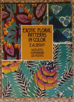 Art Deco Floral Patterns in Full Color. (Poster art series).