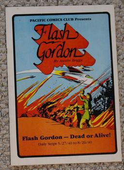 FLASH GORDON DEAD OR ALIVE Daily Strips #1 5/27/40 to 8/26/40 Englsih Language; B&W Low Run Print;