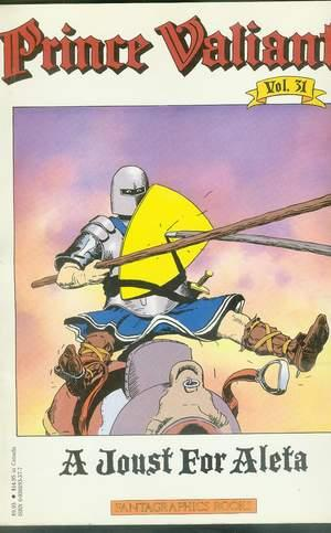 PRINCE VALIANT - Volume 31. - A JUST FOR ALETA.: Foster, Harold R.