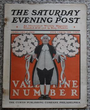 THE SATURDAY EVENING POST. Magazine February 11, 1905 - A Negro's Chance by B.G. Humphreys; Backc...
