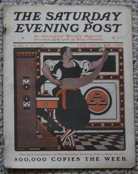 THE SATURDAY EVENING POST. Magazine March 25, 1905 - Backcover ad for Ralston Breakfast Food;. - ...