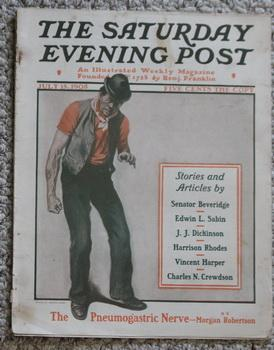 THE SATURDAY EVENING POST. Magazine July 15, 1905 -