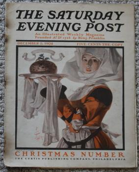 THE SATURDAY EVENING POST. Magazine December 3, 1904. - Christmas Issue -