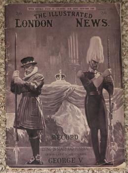 The Illustrated London News, February 1, 1936 - Record of the Lying-in-State and Funeral of His M...