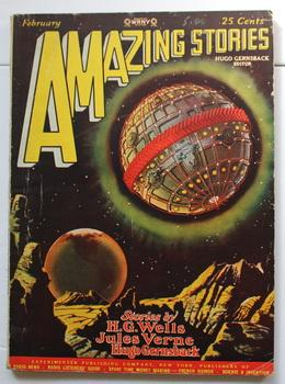 AMAZING STORIES - Scientifiction - Volume 2 #11; February; 1928;