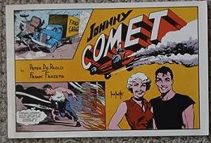 JOHNNY COMET by Frank Frazetta - Fanzine: FRAZETTA, Frank (1928-2010)