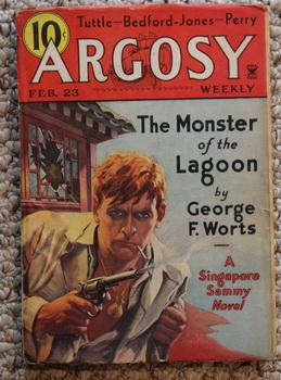 ARGOSY Weekly (Re-Bound & Altered PULP MAGAZINE): George F. Worts