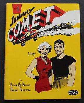 JOHNNY COMET #1 by Frank Frazetta (Edwin: FRAZETTA, Frank (1928-2010)