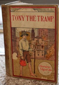 TONY THE TRAMP OR RIGHT IS MIGHT.: Alger, Horatio, Jr.