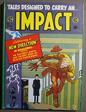 IMPACT. (Collects Volumes #1,2,3,4,5 of the Classic EC Comics, all in One HARDCOVER Book; The Com...