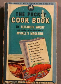 THE POCKET COOK BOOK (1946 - McCall's: Woody, Elizabeth &