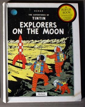 Explorers on the Moon [Pop-Up] (Adventures of: Herge - Leslie